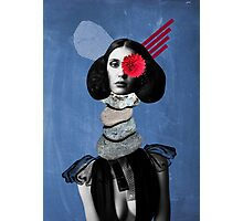 Surrealism, Surreal Collage, Whimsical Portrait, Geekery Photographic Print