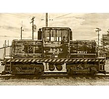 Army Train Vintage Photographic Print