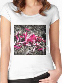 Petal Women's Fitted Scoop T-Shirt
