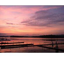 Sunrise over Raquette Lake Photographic Print