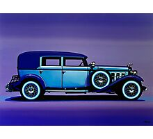 Cadillac V16 Painting Photographic Print