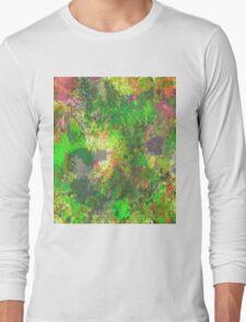 Jungle Of Colour Long Sleeve T-Shirt