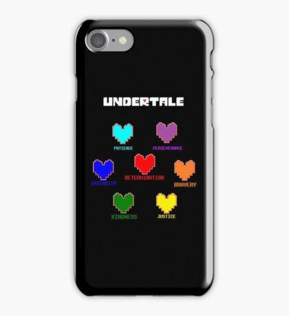 undertale human souls phone case iPhone Case/Skin