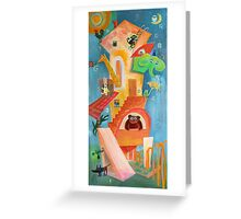 Goofy House  Greeting Card