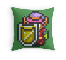 Full armored Link Throw Pillow