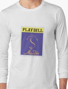Aladdin Playbill Long Sleeve T-Shirt