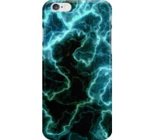 blue marble light iPhone Case/Skin