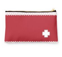 Meds - red Studio Pouch