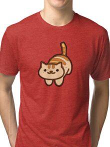 Neko Kawaii Tri-blend T-Shirt