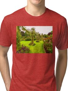 Impressions of London – Queen Mary's Garden at Regent's Royal Park Tri-blend T-Shirt