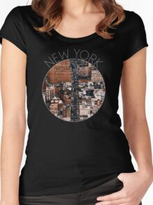 NEW YORK VII Women's Fitted Scoop T-Shirt