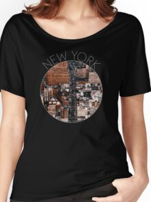 NEW YORK VII Women's Relaxed Fit T-Shirt