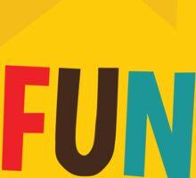 Fun Home Playbill Sticker
