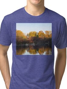 Dreamy Autumn Reflections Tri-blend T-Shirt