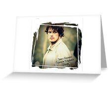 Outlander/Jamie Fraser Greeting Card