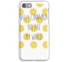 The Stone Roses Sally Cinnamon  iPhone Case/Skin
