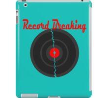 Record Breaking iPad Case/Skin