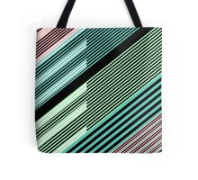 Abstract Striped Island Tote Bag