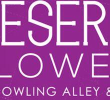Bowling Alley Sticker