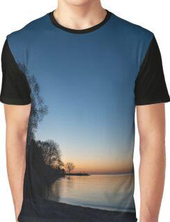 Orange Dawn Chasing the Blue Night Away Graphic T-Shirt