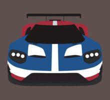 GT Race car simplistic design One Piece - Short Sleeve