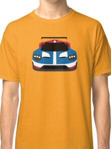 GT Race car simplistic design Classic T-Shirt