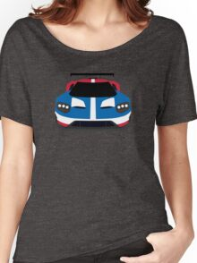 GT Race car simplistic design Women's Relaxed Fit T-Shirt