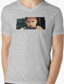 Paul Walker played Brian Mens V-Neck T-Shirt