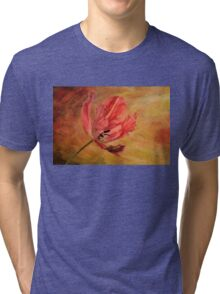 Tulip In Flames Tri-blend T-Shirt