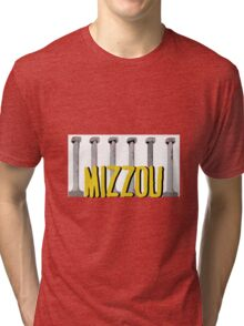 MIZ Columns  Tri-blend T-Shirt