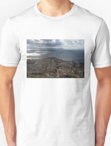 A Bird's-eye View of Naples, Italy Unisex T-Shirt