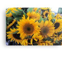 Farmers' Market Bouquet Metal Print