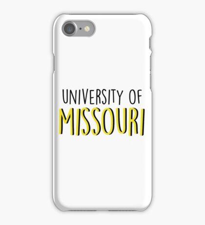 University of Missouri iPhone Case/Skin