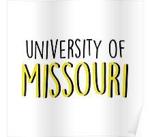 University of Missouri Poster