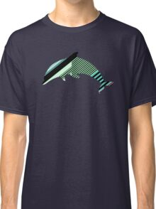 Abstract Striped Island Classic T-Shirt