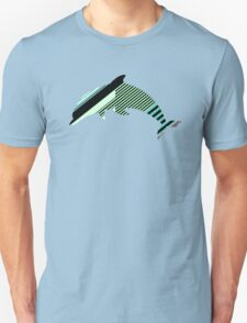 Abstract Striped Island Unisex T-Shirt