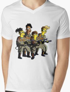 GHOSTBUSTER Mens V-Neck T-Shirt