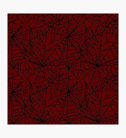 CS:GO - Crimson Web Photographic Print