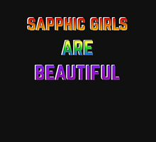 Sapphic Girls are Beautiful Women's Fitted Scoop T-Shirt