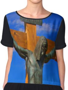 Jesus of Nazareth The King of The Jews Chiffon Top