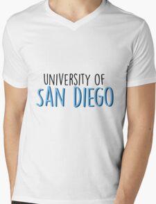 University of San Diego Mens V-Neck T-Shirt