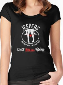 Funny Design For Jeep Lovers.! Women's Fitted Scoop T-Shirt