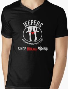 Funny Design For Jeep Lovers.! Mens V-Neck T-Shirt