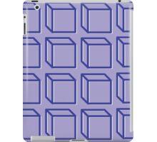 Geometric 3D Cube Design iPad Case/Skin