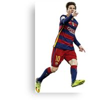 Messi - Pointing Canvas Print