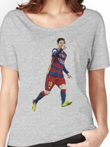 Messi - Pointing Women's Relaxed Fit T-Shirt