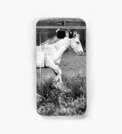 Two of a Kind BW Samsung Galaxy Case/Skin