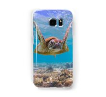 Joyful turtle Samsung Galaxy Case/Skin