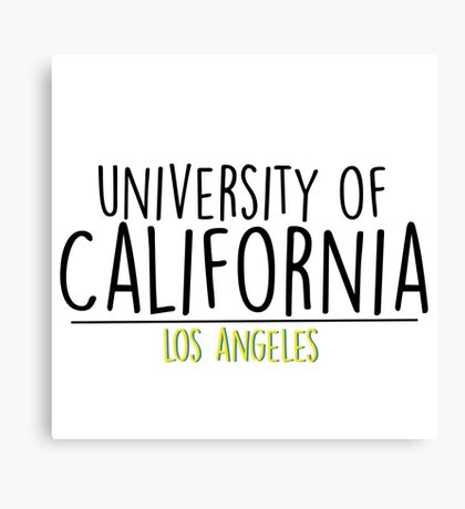 University of California - Los Angeles Canvas Print