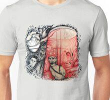 Left alone with a broken heart Unisex T-Shirt